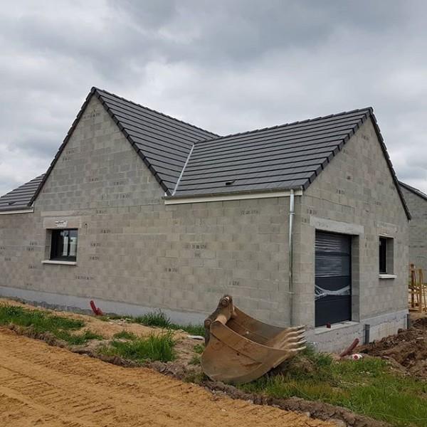 Réalisation d'une maison