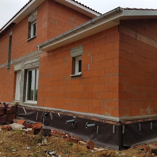 Construction d'une maison individuelle